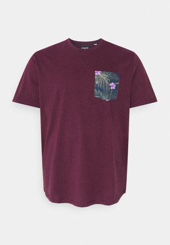JORPAAN TEE CREW NECK - T-shirt med print - port royale
