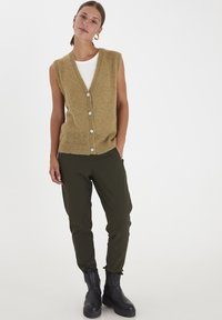 PULZ - PXIRIS SPECIAL FAIR OFFER - Cardigan - gothic olive - 1