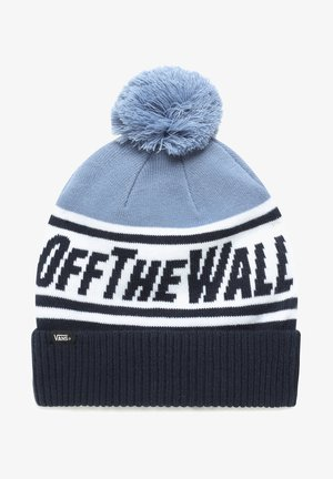BY OFF THE WALL POM BEANIE BOYS - Czapka - dress blues/infinity