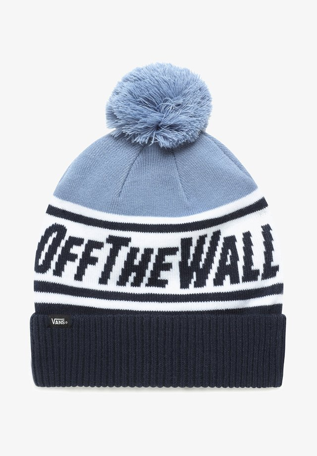BY OFF THE WALL POM - Berretto - dress blues/infinity