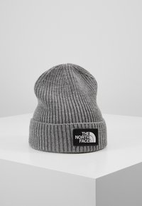 The North Face - LOGO BOX CUFFED BEANIE UNISEX - Beanie - medium grey heather - 0