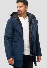 INDICODE JEANS - Winter coat - navy - 0