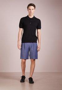 Bruuns Bazaar - GERHARD - Polo shirt - black - 1