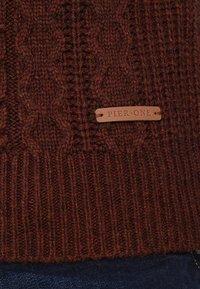 Pier One - Pullover - mottled brown - 5