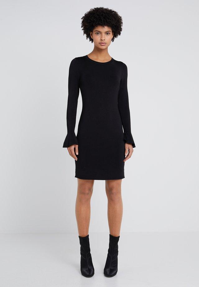 CREW FLARE  - Shift dress - black