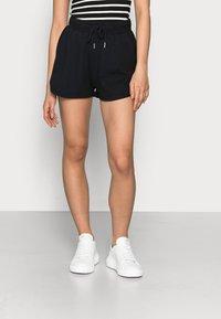Even&Odd Petite - PETITE 2 PACK - Shorts - black/mottled light grey - 3