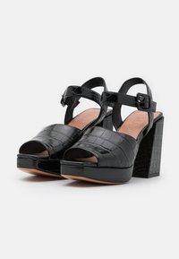 MAX&Co. - BREST - Sandalen met hoge hak - black - 2