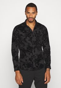 Twisted Tailor - MARSHALL SHIRT - Camicia - black - 0