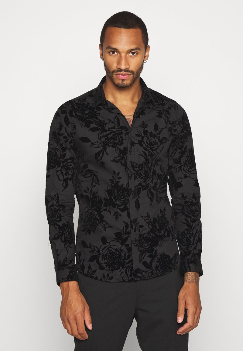 Twisted Tailor - MARSHALL SHIRT - Camicia - black