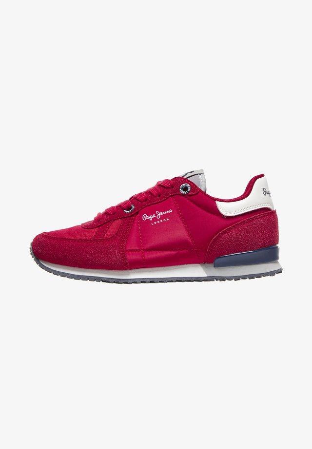 SYDNEY BASIC BOY AW20 - Sneakersy niskie - rot