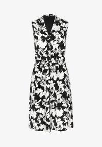 comma - Jersey dress - black floral print - 5