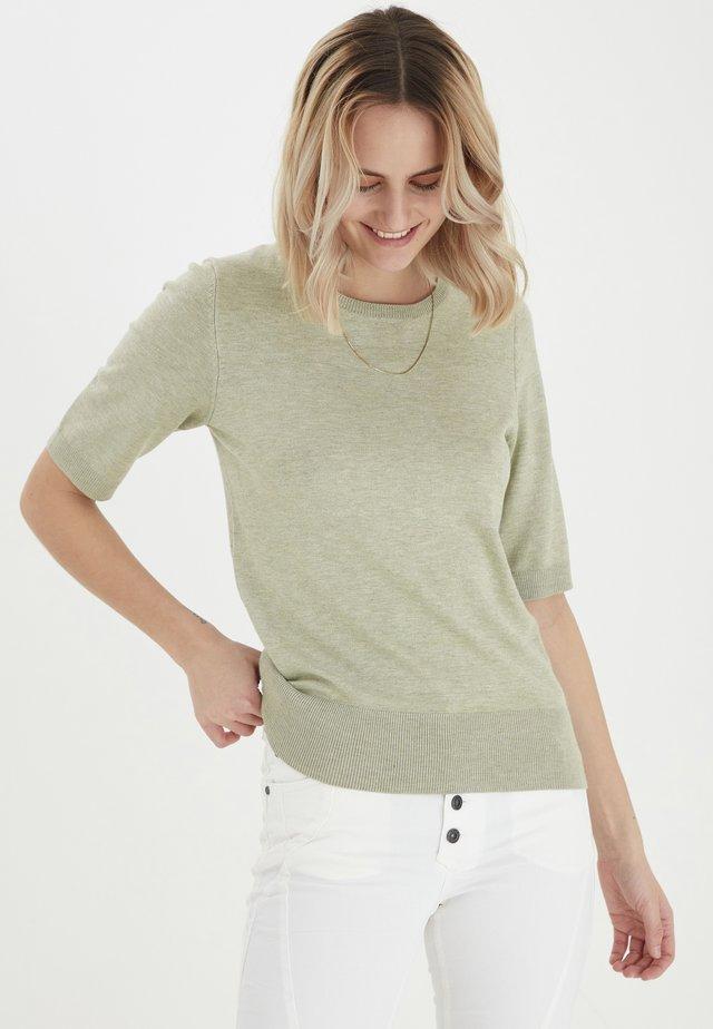 PZSARA - T-shirt print - desert sage melange