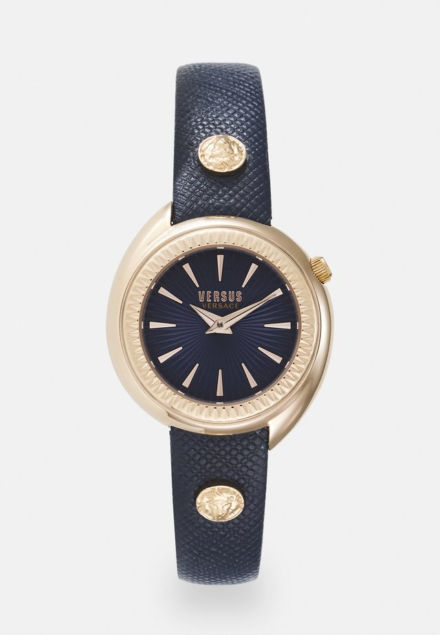 TORTONA - Orologio - rosegold-coloured/blue