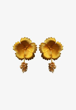 WILD HIBISCUS - Earrings - gold