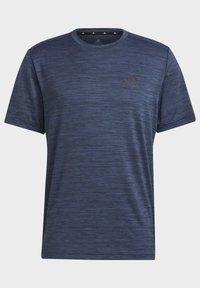 adidas Performance - M HT EL TEE - T-shirts basic - blue - 7