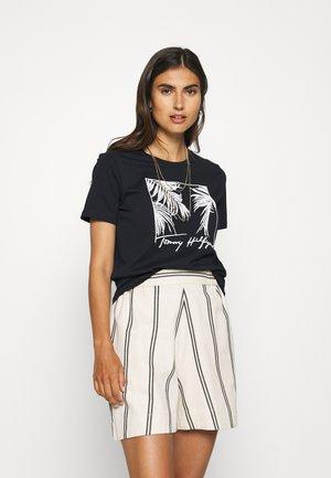 BRIGIT RELAXED  - T-shirt z nadrukiem - dark blue