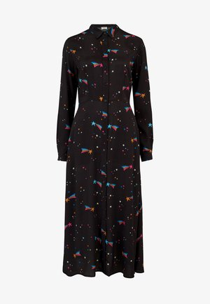 ELSPETH  WISHING ON A STAR - Shirt dress - black