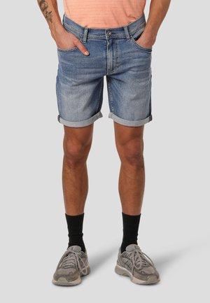 LESLI - Denim shorts - sky blue used