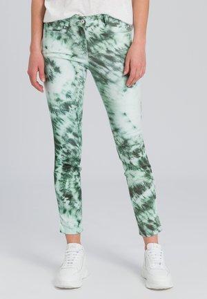 Slim fit jeans - dark jade