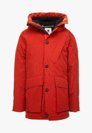 SHORT - Cappotto invernale - rusty red