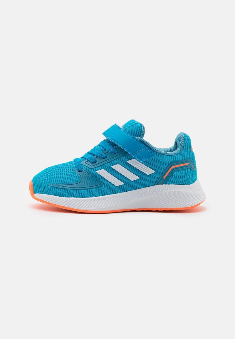 adidas Performance - RUNFALCON 2.0 UNISEX - Neutral running shoes - solar blue/footwear white/hazy blue