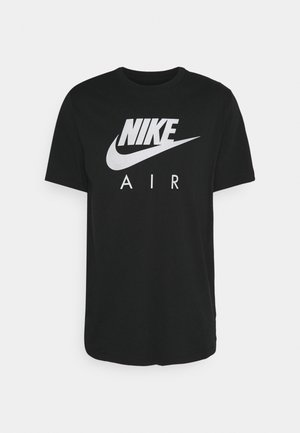 TEE FRANCHIS AIR - Print T-shirt - black
