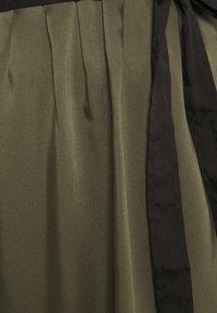 DKNY - CAP V NECK DRESS - Day dress - rosemary - 6