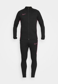 Nike Performance - DRY SUIT SET - Tracksuit - black/hyper pink - 6