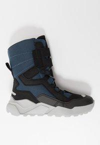 Superfit - ROCKET - Winter boots - schwarz/blau - 1