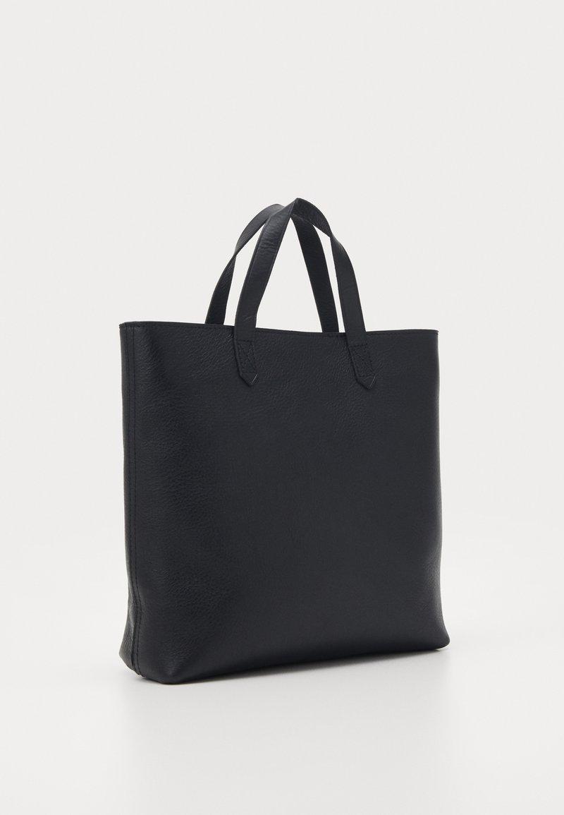 Madewell - THE ZIP TRANSPORT CROSSBODY - Handbag - true black