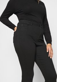New Look Curves - Skinny džíny - black