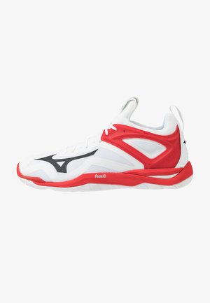 WAVE MIRAGE 3 - Handball shoes - white/black/red