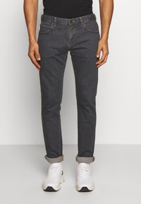 Emporio Armani - Slim fit jeans - denim grigio - 0