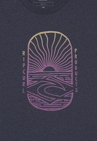 Rip Curl - LIGHTHOUSE BOYS - Print T-shirt - navy marle - 2