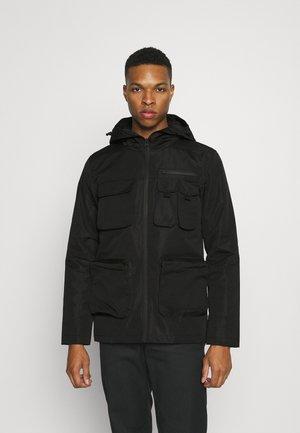 CRAWFORD - Zimní bunda - black