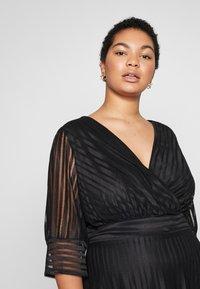 TFNC Curve - TEGEAN - Koktejlové šaty/ šaty na párty - black - 3