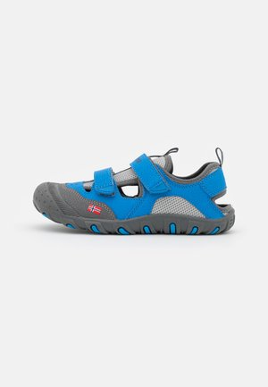 KIDS LILLESAND UNISEX - Walking sandals - medium blue