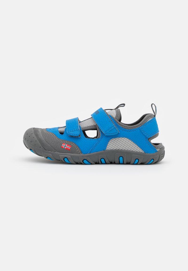 TrollKids - KIDS LILLESAND UNISEX - Walking sandals - medium blue