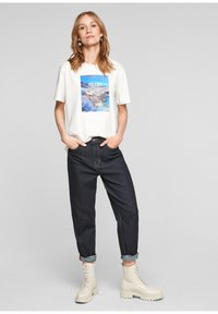 s.Oliver - Relaxed fit jeans - dark blue - 1