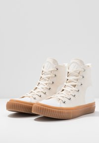 McQ Alexander McQueen - SWALLOW PLIMSOLL  - Baskets montantes - oyster/white - 4