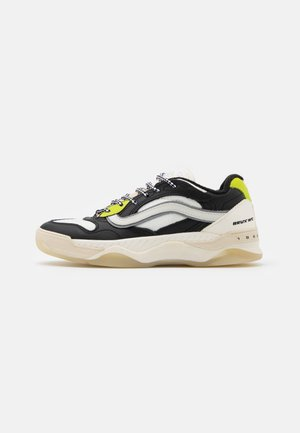 BRUX WC UNISEX - Sneakersy niskie - black/lime punch/marshmallow