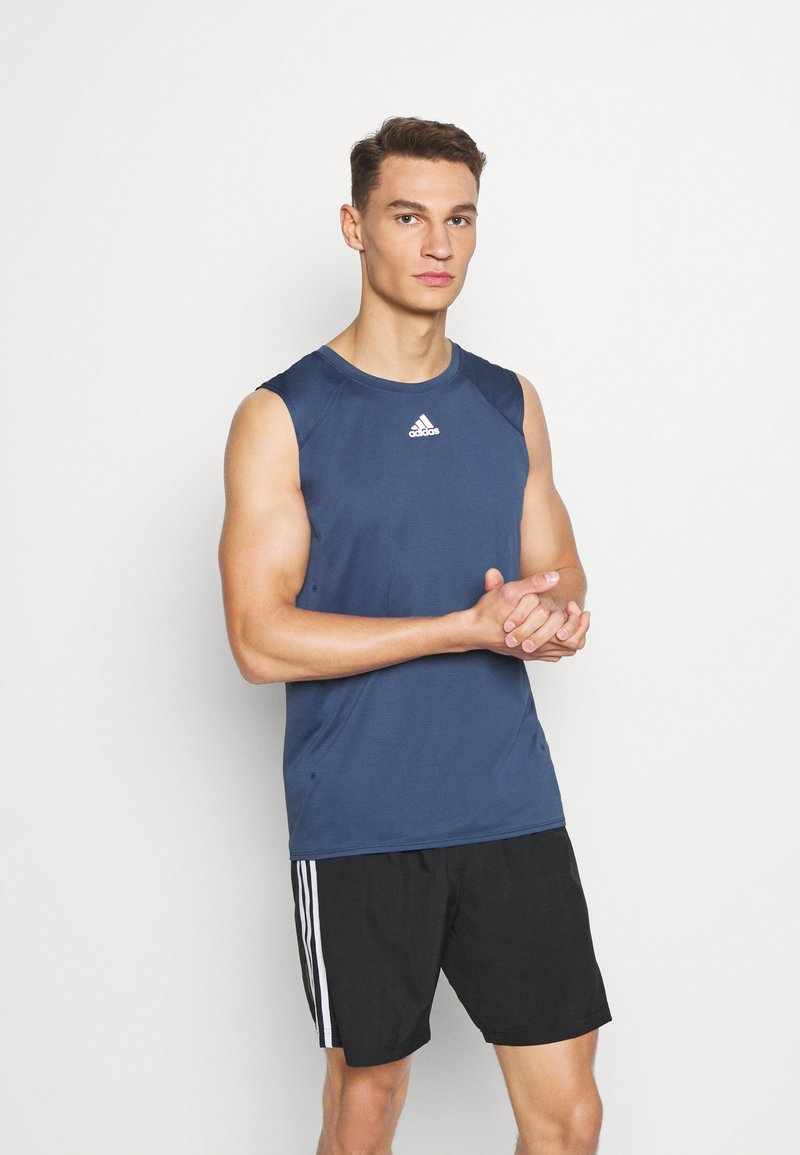adidas Performance - HEAT.RDY  - Sports shirt - tech indigo
