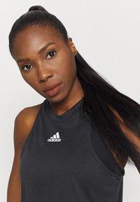 adidas Performance - TANK - Sports shirt - black - 3