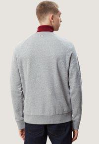 Napapijri - BOVES - Sweatshirts - med grey mel - 2