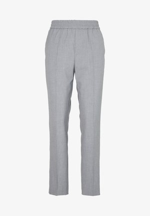 TROUSERS FARIN - Trousers - grey melange