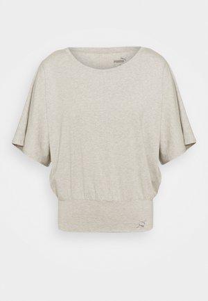 EXHALE TEE - T-shirt basique - light gray heather
