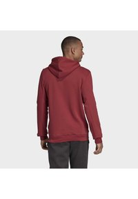 adidas Performance - BADGE OF SPORT FRENCH TERRY HOODIE - Jersey con capucha - red - 1