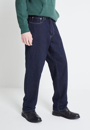 STAY LOOSE  - Relaxed fit jeans - dark blue denim
