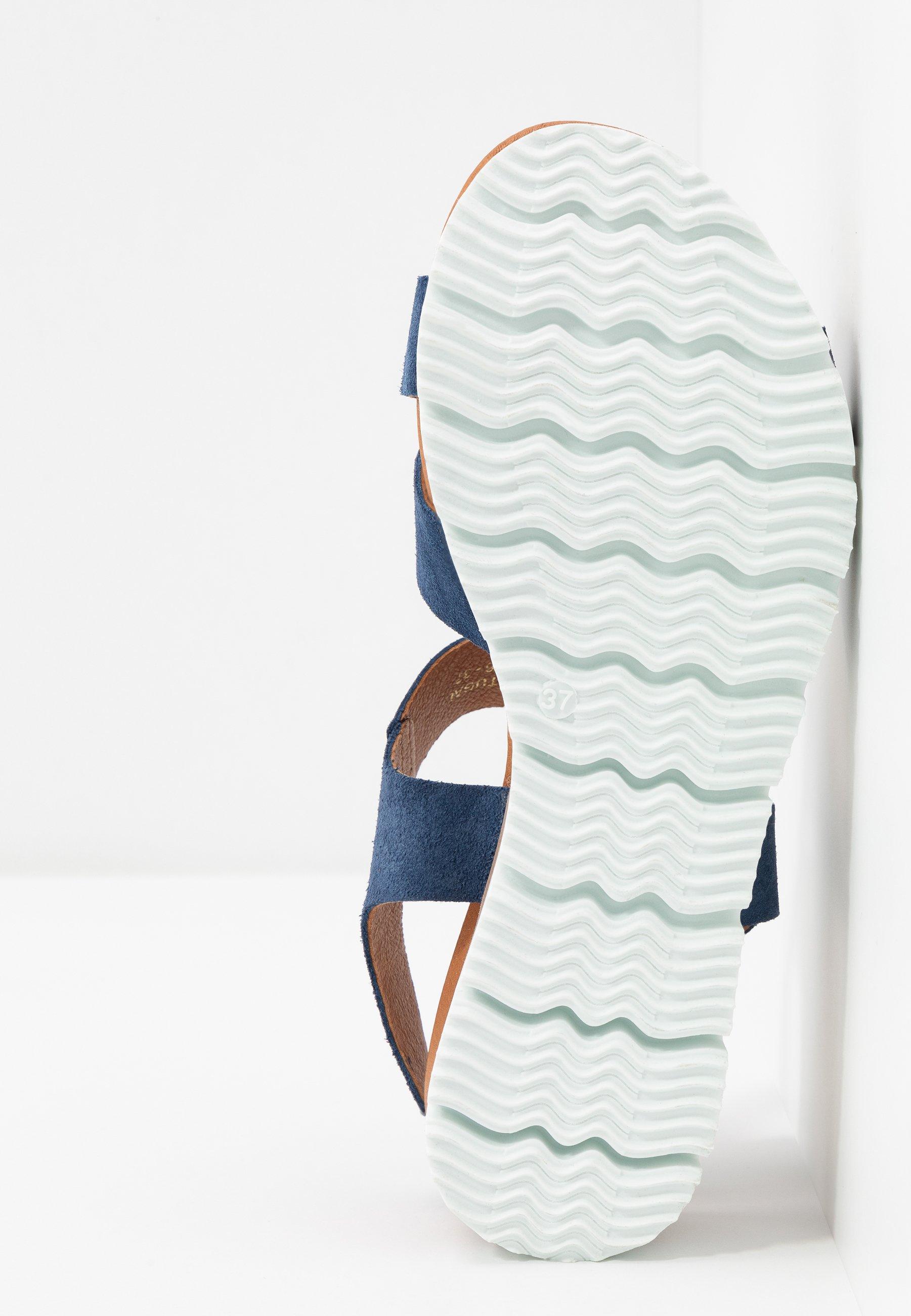 Women BIADEBRA SUEDE SANDAL - Sandals - light blue