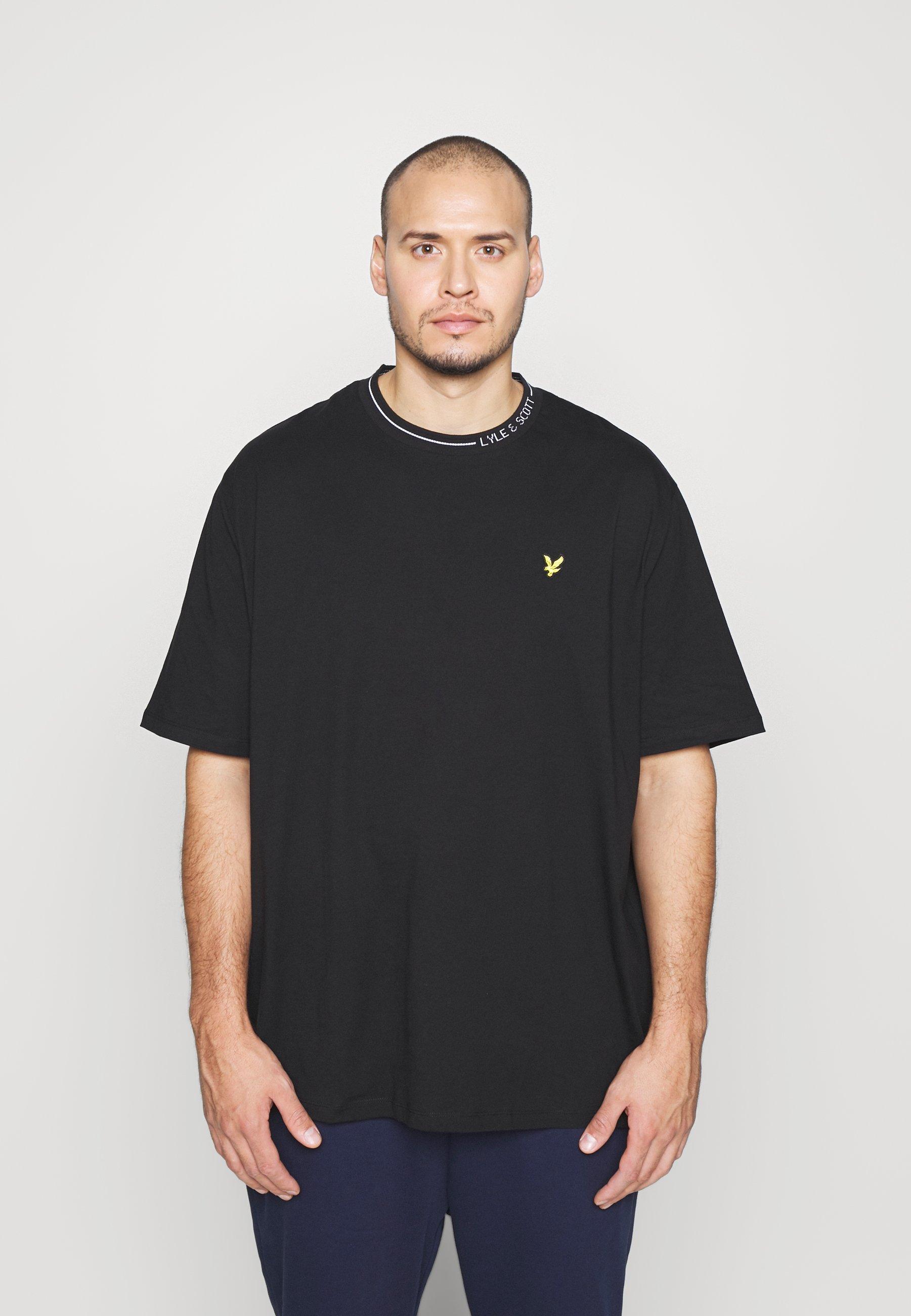 Homme PLUS BRANDED RINGER - T-shirt basique